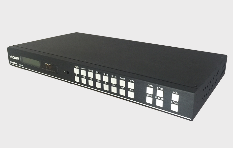 8x8 HDMI Matrix Switcher