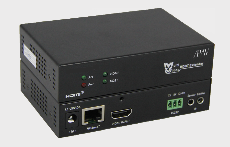 HDBaseT Extender with POE